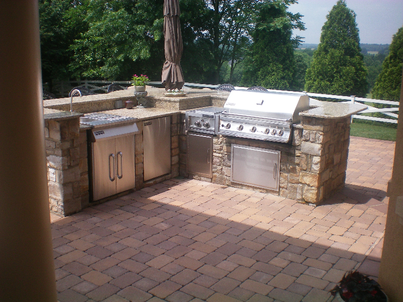 Backyard Built In Grill Ideas Various Design Inspiration For Backyard