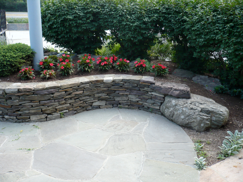 patio designs stone pavers