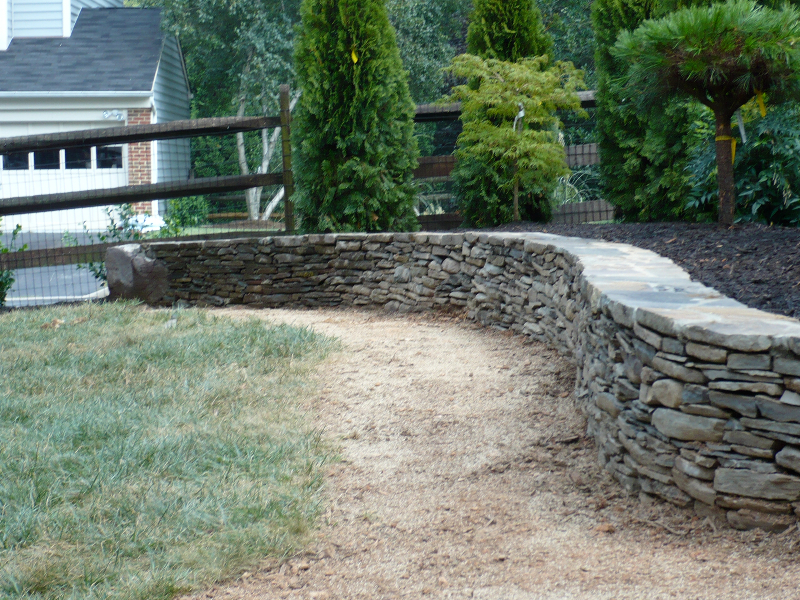Stone Walls Landscaping : Stone walls divine landscaping inc