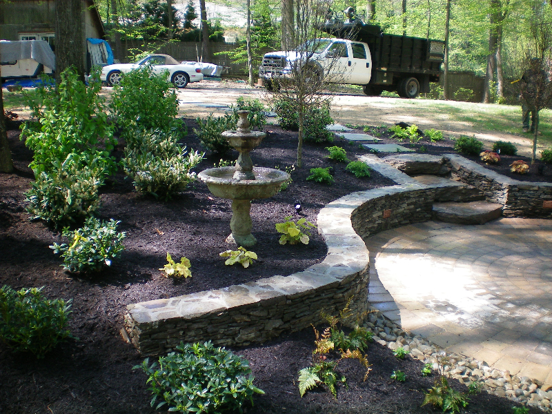 Stone Walls Divine Landscaping Inc