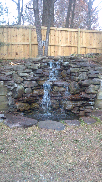 Maryland Water Feature contractor, Maryland waterfall builder