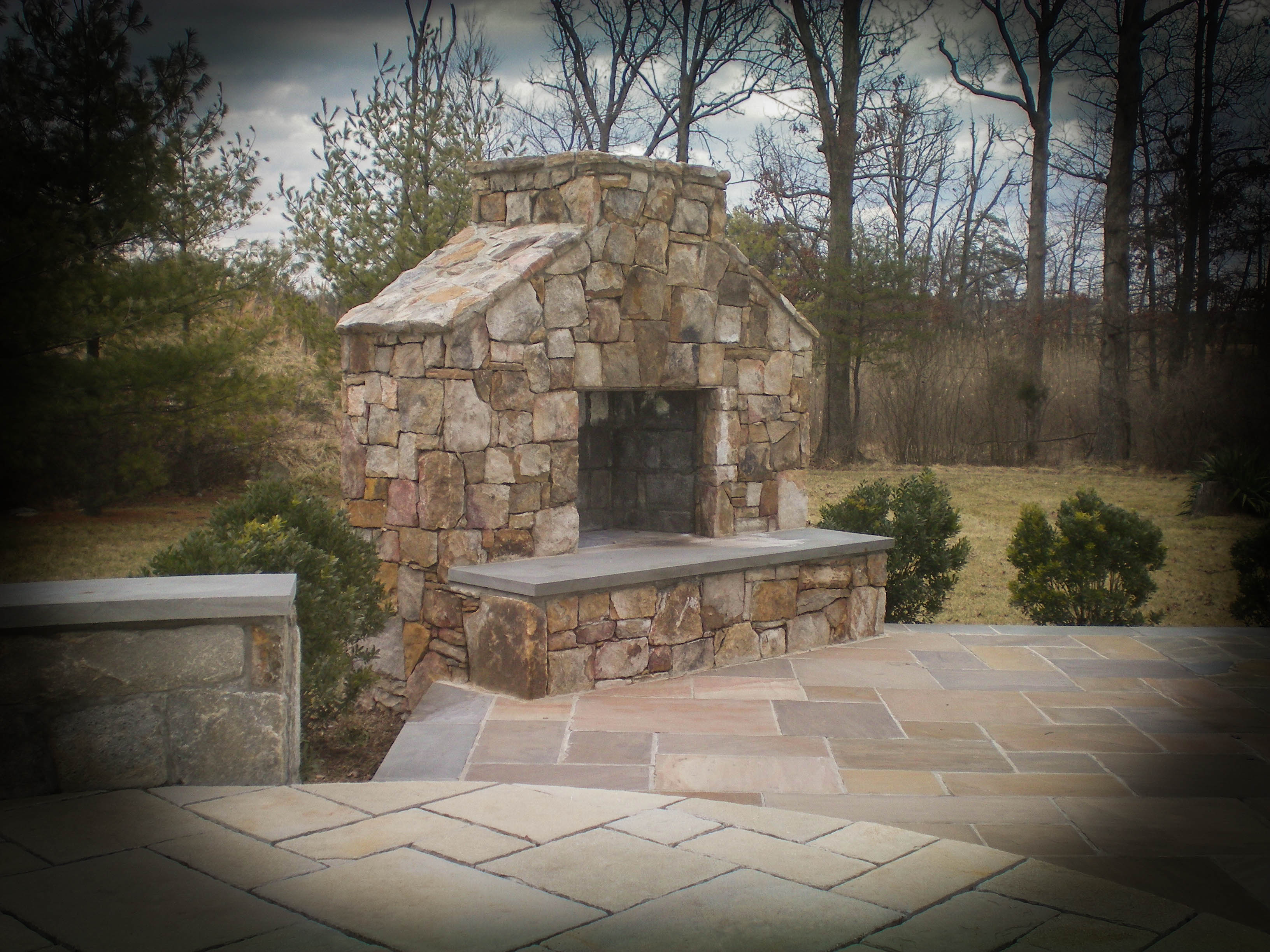 fireplaces divine landscaping inc